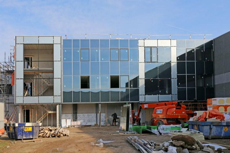 Hulkenberg bouwt twee nieuwe kantoorlagen